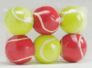 tennisballen 6 stuks