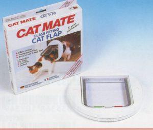 Cat Mate kattendeur met vierwegsluiting rond