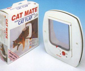 Cat Mate electromagnetische kattendeur voor o.a. glazen deuren