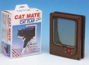 Cat Mate electromagnetische kattendeur met vierwegsluiting