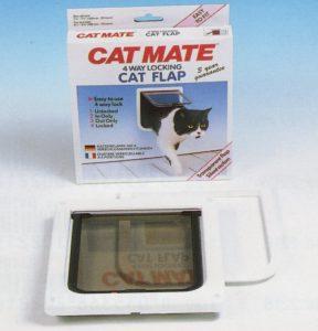 Cat Mate kattendeur met vierwegsluiting