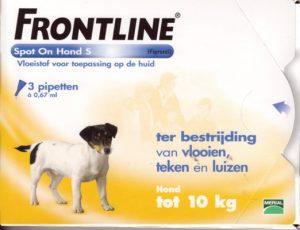 Frontline hond 02-10 kg