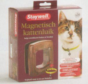 Staywell met magnetische halsbandsleutel