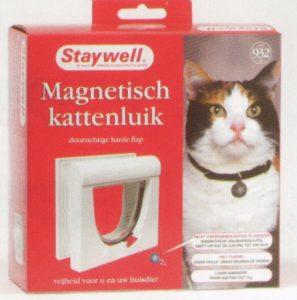 Staywell met 1 magnetische halsbandsleutel