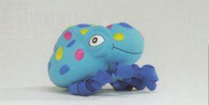 Latex pop-up octopus