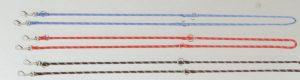 Nylon ronde verstelbare dressuurlijn 200cm x 13mm