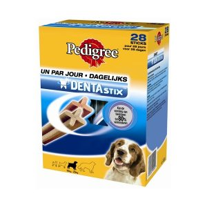 Dentastix multipak (28 stuks) voor middelgrote en grote honden-0