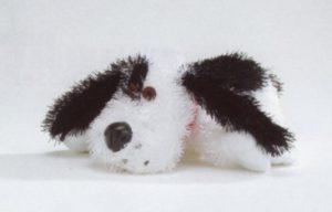 Pluche hond Rex, langharig