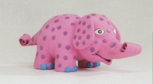 Latex pop-up olifantje-0