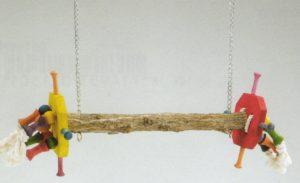 Papegaaien schommel