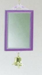 Plastic spiegel vierkant