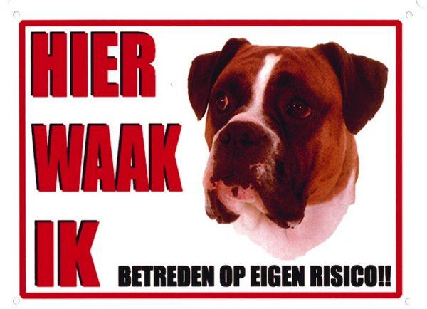 Waakbord Boxer 1-0