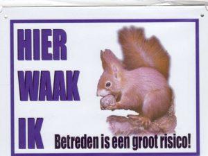 Waakbord Eekhoorn-0