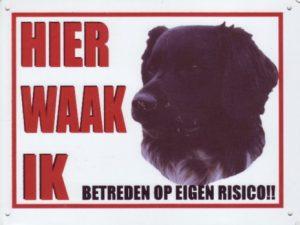 Waakbord Friese Stabij donker-0
