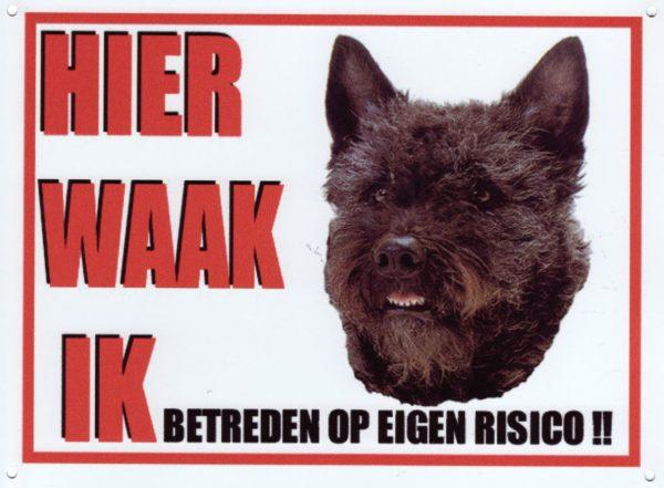 Waakbord Hollandse Herder ruwhaar-0