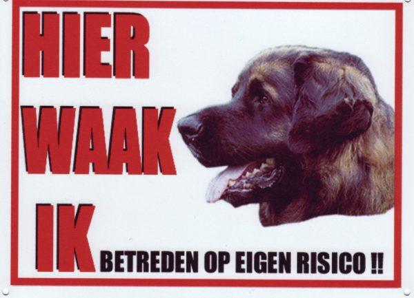 Waakbord Leonberger-0