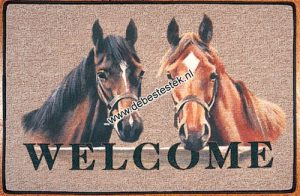 Deurmat 2 Paarden