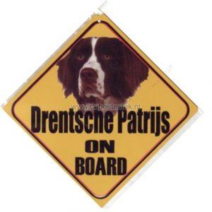 Autobordje Drentsche Patrijs-0