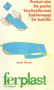 Hondenjas Dover (dekje) 40 cm Blauw-0