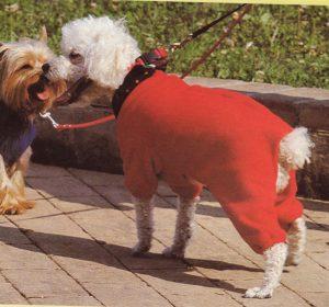 Hondenjas Vienna extra dun 40 cm-0