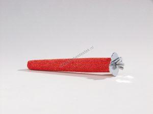 Puimsteen zitstok roze 15 cm