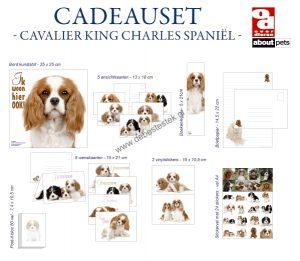 Cavalier king charles spaniel cadeauset-0