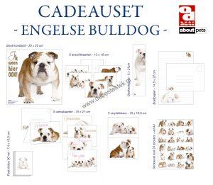 Engelse Bulldog cadeauset-0