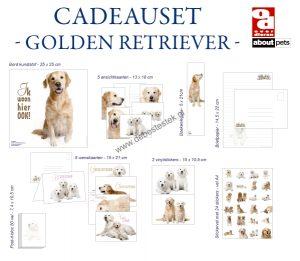 Golden Retriever cadeauset-0