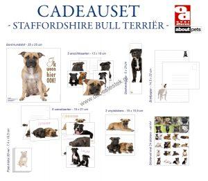 Staffordshire Bull Terriër cadeauset-0