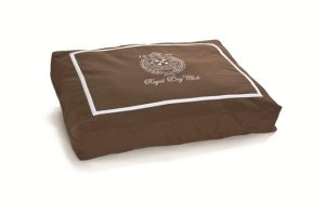 Ligkussen Royal Dog Club bruin