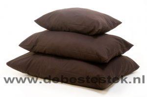 CK Ligkussen Workwear bruin 110 x 140 cm