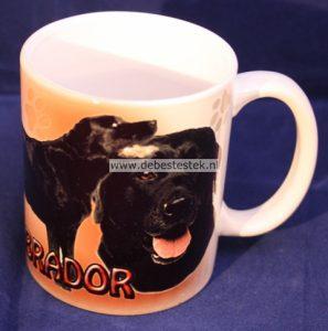 Mok Labrador zwart-0