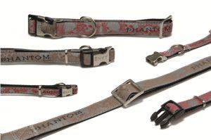 Envy halsband Phantom 20-30 cm rood