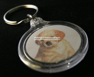Sleutelhanger Golden Retriever pup