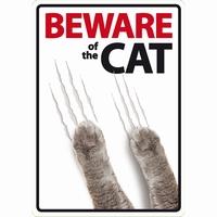 OD Waakbord Beware of the Cat-0