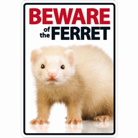 OD Waakbord Beware of the Ferret ( fret )-0