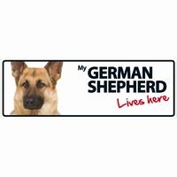 OD Waakbord German Shepherd langwerpig-0