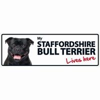 OD Waakbord Staffordshire Bull Terrier langwerpig-0