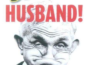 OD Waakbord Beware HUSBAND-0