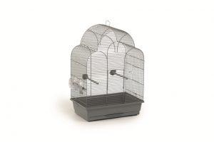 Vogelkooi Sonia grijs 45 x 28 x 63 cm-0