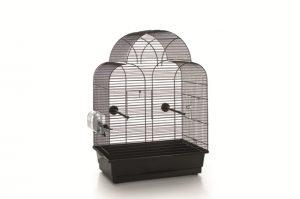 Vogelkooi Sonia zwart 45 x 28 x 63 cm-0