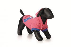 hondentrui hoodie C roze 26 cm-0