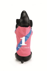 hondentrui hoodie C roze 38 cm-6492