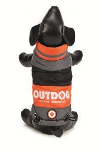 Hondenjas outdog oranje 22 cm-0