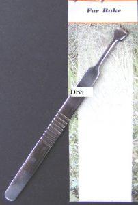 fly tying tool Fur Rake
