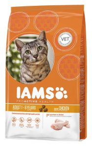 Iams ProActive Health_Adult Dry Cat Food Rich in Succulent Roasted Chicken