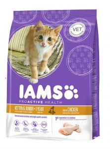 Iams ProActive Health_Kitten & Junior Dry Cat Food With Rich in Succulent Chicken