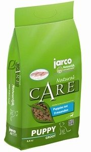 Jarco Natural Puppy Groot - L 2,5 kg-0
