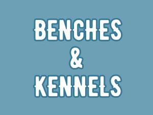 Benches en Kennels