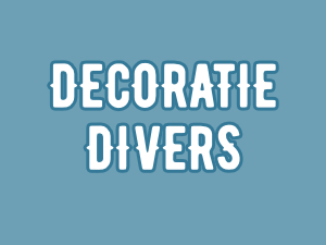 Decoratie divers